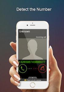 screenshot of كشف رقم وإسم المتصل المجهول version 1.0