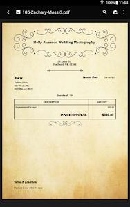 screenshot of Invoice Maker & Billing App version 2.9