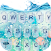Download 3D Blue Glass Water Keyboard Theme 6.12.22.2018 APK