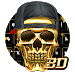 Download 3D Hip-Hop Skull Keyboard 10001001 APK