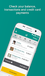 screenshot of ABN AMRO Mobiel Bankieren version Varies with device