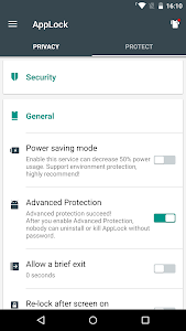 Download Advanced Protection ☞ AppLock 1.7 APK