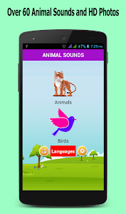 screenshot of Animal Sounds version 7.0