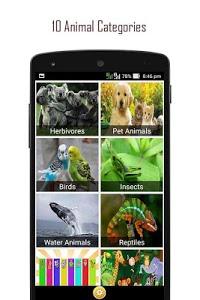 screenshot of 120 Animal Sounds version 24.5