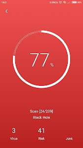 screenshot of Antivirus & Virus Remover (Applock, Accelerator) version 1.0.4
