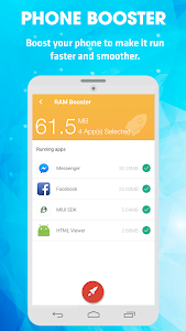 screenshot of Antivirus & Virus Remover (Applock, Accelerator) version 1.0.6