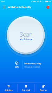 screenshot of Antivirus & Virus Remover (Applock, Accelerator) version 1.0.3