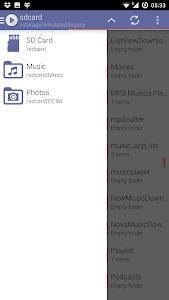 screenshot of Aristotle Мusic audio player 2017 version 1.0