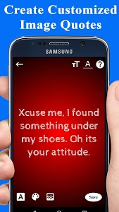 screenshot of Attitude Status For Girls version 1.1