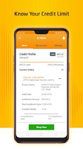 screenshot of B.TECH version 1.8.2