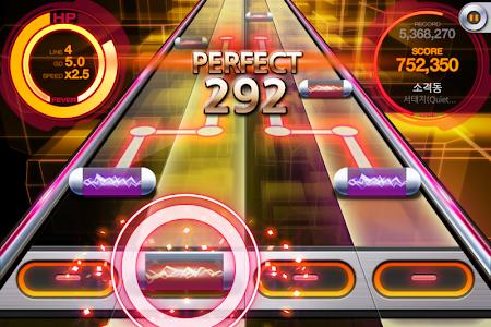screenshot of BEAT MP3 2.0 - Rhythm Game version 2.5.6