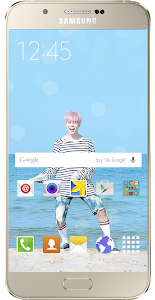 screenshot of BTS wallpapers version 4