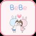 Download BeBe Couple2 GO sms theme 1.2 APK