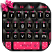 Download Beautiful Pink Bowknot Keyboard Theme 10001001 APK