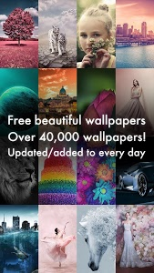 screenshot of Beautiful HD Wallpapers - Cool Background Images version 1.7.0