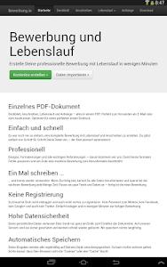 Download Bewerbung Und Lebenslauf Kostenlos Als Pdf 035 Apk