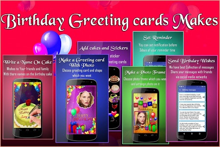 Download Birthday Greeting Cards Maker Photo Frames Cakes 1037 APK