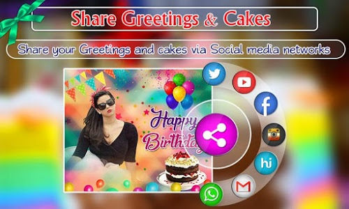 download birthday greeting cards maker photo frames cakes 1 0 35