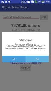 Download Bitcoin Miner Robot 1.2.1 APK