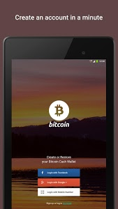 screenshot of Bitcoin Wallet by Freewallet version 1.2.44