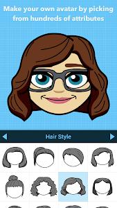screenshot of Bitmoji – Your Personal Emoji version 10.16.547