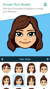 screenshot of Bitmoji – Your Personal Emoji version 10.19.224