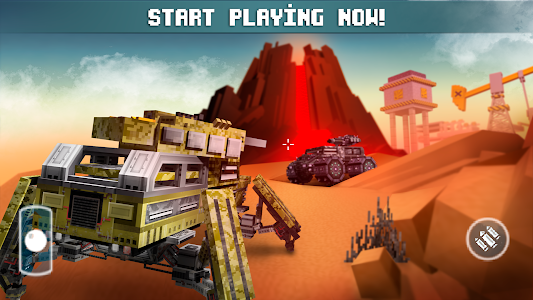Download Blocky Cars - Online Shooting Game 6.4.9 APK