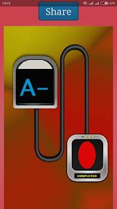 screenshot of Blood Group Test Prank Xray version 1.0