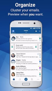 screenshot of Blue Mail - Email & Calendar App version 1.9.5.4