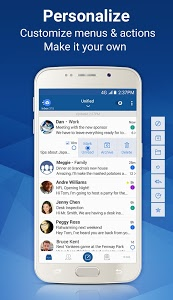 screenshot of Blue Mail - Email version 1.9.2.84