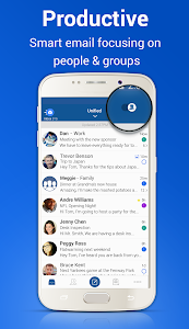 screenshot of Blue Mail - Email Exchange version 1.9.2.48