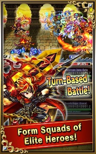 screenshot of Brave Frontier version 1.12.3.0