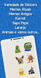 screenshot of Brazil Funny Memes - Stickers Whatsapp version 23.0