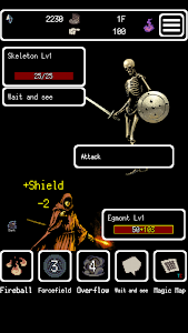 screenshot of Buriedbornes -Hardcore RPG- version 2.9.8