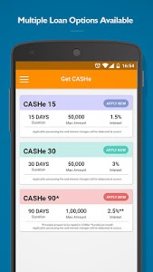 screenshot of CASHe – Instant Personal Loans version 7.8.4