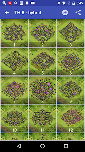 screenshot of Maps of Coc TH8 version 1.0.4