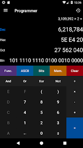 screenshot of Calculator² version 1.10.5