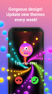 screenshot of Call Flash - Color Your Phone,Caller Screen Themes version 1.10.7