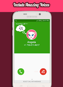 Download Call From Talking Angela 1.2 APK