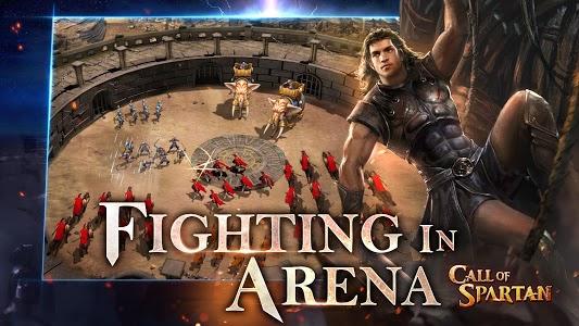 screenshot of Call of Spartan version 3.1.7