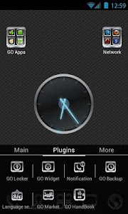 Download Carbon and Chrome Go Launcher v1.1 APK