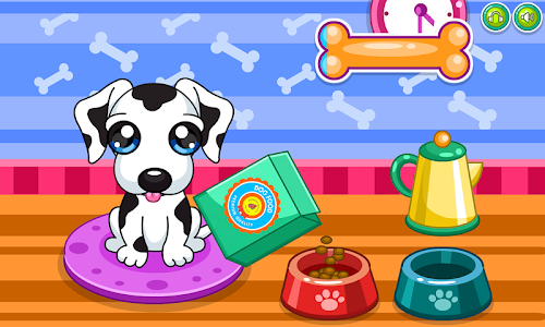 screenshot of Caring for puppy salon version 2.0.5
