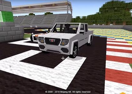 Download Cars for Minecraft PE Mod 1.4.20 APK