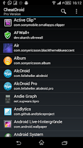 screenshot of Cheat Droid ★ PRO / root only version 2.1