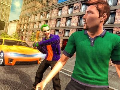 Download City Gangster Clown Attack 3D 1.17 APK