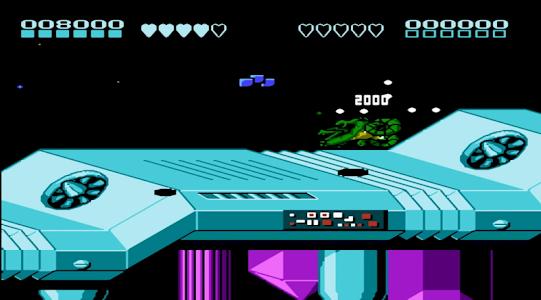 screenshot of Combat Toads 2 Nes version 1