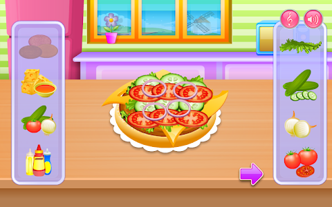 screenshot of Cooking in the Kitchen version 1.1.0