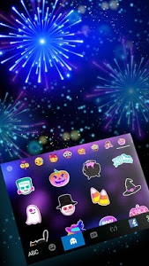 Download Coolfirework Keyboard Theme 1.0 APK