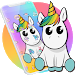 Download Cute Colorful Cartoon Unicorn Theme 1.1.1 APK