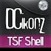 Download DCikonZ Carbon TSF Theme 1.4.8 APK